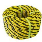在庫品BMS 標識用トラロープ#9x50m巻 30188 301885 ロープ