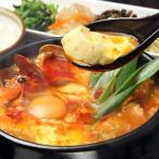 スンドゥブチゲの素450g(約2人前)/魚介の旨みを引き出したコクのある濃厚なスープです。