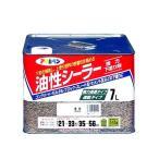 アサヒペン 油性シーラー 7L 透明 クリヤ