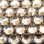 【スワロフスキー ラインストーン #2028 2058】 SS9(2.5-2.7mm) 【ライトコロラドトパーズ】 約100ヶ【スワロ・スワロフスキービーズ・スワロスキー・スワロフス