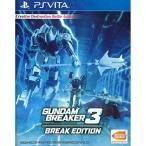 PSVITA ガンダムブレーカー3 ブレイクエディション 北米版 Gundam Breaker 3 Break Edition (English Subtitle)