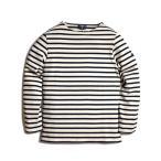 ショッピングSHIRTS SAINT JAMES GUILDO L/S BASQUE SHIRTS セントジェームス ギルド バスクシャツ ナチュラル  ネイビー 通販