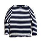ショッピングSHIRTS SAINT JAMES GUILDO L/S BASQUE SHIRTS セントジェームス ギルド バスクシャツ ネイビー ナチュラル 通販