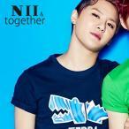 半袖 Tシャツ レディース メンズ プリント ロゴ ヒップホップ ファッション 韓国 ブランド ダンスウェア アメガジ ヒップホップ NII