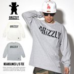Grizzly Griptape グリズリー ロンT メンズ 長袖Tシャツ ロゴプリント HEADSLINES L/S TEE 2017 秋冬 新作