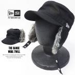 ニューエラ 耳あて付きワークキャップ メンズ 帽子 NEW ERA THE RANGE ウールツイル ブラック 2017 秋冬 新作