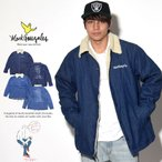 MARK GONZALES マークゴンザレス デニムコーチジャケット メンズ 裏ボア付き 厚手 ランチジャケット (2G5-8902)