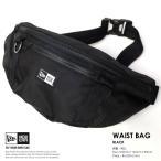 ショッピングウエストバッグ ニューエラ ウエストバッグ NEW ERA WAIST BAG ブラック
