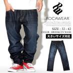 ロカウェア ROCAWEAR ジーンズ メンズ デニムパンツ テーパード 大きいサイズ R1608J302 秋冬