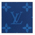 ルイヴィトン財布 メンズ 新作新品 モノグラム M30297 ポルトフォイユブラザ LOUIS VUITTON 正規ラッピング 青