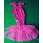 二点送料無料 キッズ 子供 女の子 キッズ 人魚姫 ダンス衣装 上下セット 写真服 撮影服 ハロウィン 仮装 イベント 上着、ロングスカート2点セット