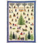 フレメ クロスステッチ 刺繍キット 【もみの木と街の人々 】 クリスマス デンマーク 輸入ししゅうキット