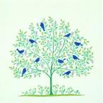 フレメ クロスステッチ 刺繍キット 【青い鳥】鳥と動物 デンマーク 輸入ししゅうキット