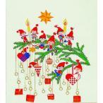 フレメ クロスステッチ 刺繍キット 【楽しいニッセたち】 クリスマス デンマーク 輸入ししゅうキット
