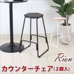 カウンターチェアー 2脚セット 送料無料 リオン 天然木 椿 2色対応 Danketuhl ダンクトゥール バーチェアー モダン イス 椅子