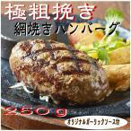 ハンバーグ専門店の網焼きハンバーグ 250g/1個