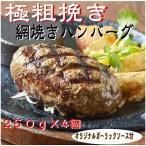 ハンバーグ専門店がお届けする【網焼きハンバーグ 250g×4】