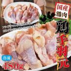 480g国産鶏手羽元冷凍品 訳ありではないけどこの格安 男しゃく100g当約49.7円+税 業務用 鶏肉 とり肉 鳥肉 唐揚げ 鍋