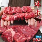 びっくりジャンボ牛串 100g×2本入 冷凍 バーベキュー 串焼 やきとり 業務用にも最適