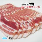 腹肉 - イタリア産ホエ-豚バラ肉スライス 1Kg 赤身が多いのが特徴