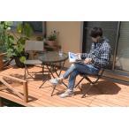 ガーデンテーブルセット ラタン調 おしゃれ 3点セット 折りたたみ ガーデンテーブル カフェテーブルセット アジアン