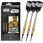 STAR WARS(スター・ウォーズ) Darts Set / C-3PO 2BA (ダーツ バレル ダーツセット)