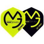XQ MAX DARTS(エックスキューマックスダーツ) MvG フライト スタンダード マイケル・ヴァン・ガーウェン選手モデル (ダーツ フライト)