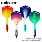フライト&シャフト ユニコーン unicorn COSMOS FLIGHT & SHAFT COMBO PACK コスモス コンボパック(ポスト便OK/4トリ)