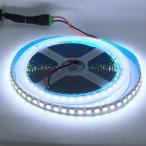 LEDテープライト 100 V 電源アダプタ付き 2835 / 3528 高密度 白色 (昼白色) 12 V (1.25 cm 0.25 W 単位 切り売り,非防水,照明器具)
