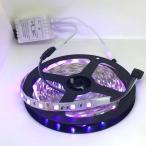 100 V 電源アダプタつき 5050 RGB 3 色 12 V LED テープライト (5 cm 単位,非防水,照明器具)