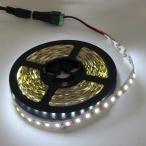 100 V 電源アダプタつき 5050 白色 (昼白色) 12 V LED テープライト (5 cm 0.7 W 単位,非防水,照明器具)