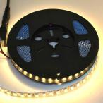 100 V 電源アダプタつき倍密度 5630 電球色 LED テープライト (2.5 cm 0.78 W 単位,非防水)