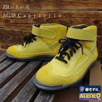安全靴 本革JIS 椿モデル 青木産業 ATENEOアテネオ ZRシリーズ AG38の画像