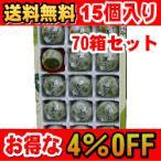 【送料無料】【70箱セット】【お得な4%OFF】美味し国 宮城 ずんだ饅頭 15個入り