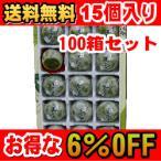 【送料無料】【100箱セット】【お得な6%OFF】美味し国 宮城 ずんだ饅頭 15個入り