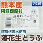 熊本県  阿蘇西原村産 落花生とうふ ( 野菜セット と同梱で送料無料) 豆腐 とうふ