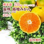 みかん 熊本産  訳あり サイズ混合 20kg (10kg×2)  送料無料  九州 熊本 温州 早生 極早生 みかん 柑橘 ミカン こたつ 甘い