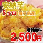 種子島産 安納芋 (サイズ混合・訳あり品)  5キロ  送料無料  ( 九州 野菜 鹿児島 あん納芋 あんのういも イモ )