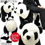 座れるパンダ スツール 大人が座っても大丈夫 座れるぬいぐるみ プレゼントにお勧め アニマルシリーズ【パンダ ウシ 牛 ゾウ 象 キリン