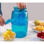 かき氷機 手動 子供 家庭用 かき氷 おウチで簡単 かき氷器 夏 ひんやり ふわふわ 雪花 夏 子供 夏休み