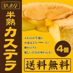 スイーツ 洋菓子 半熟カステラ 訳あり!半熟カステラ(4個)