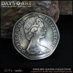『ウルトラセール対象商品』オーストラリア50セント硬貨 コインコンチョ リアルコイン