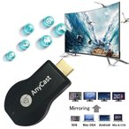 AnyCast HDMI Streaming Media Player / 無線 WIFI HDMI ストリーミング Wi-Fi  画面共有 Dongle イージー