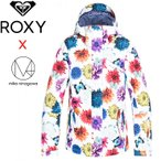 ロキシー スノーボードウェア 蜷川実花 レディース スノージャケット 人気ブランド スノボジャケット ROXY ERJTJ03187