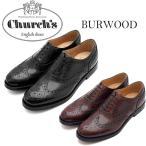 (Church's)チャーチ レディース高級レザーシューズ Ladies BURWOOD WG 革靴 バーウッド おじ靴 チャーチーズ