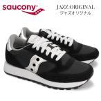 (Saucony)サッカニー JAZZ ORIGINAL ジャズオリジナル スニーカー ブラック/シルバー 1044-1 black silver レディース 雑誌掲載 ランニングシューズ