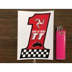 【メール便発送可】マン島ステッカー Isle of Man TT Races No.1 Stickers #142