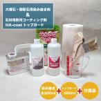 掃除 洗剤 大理石キレイ 染み抜き掃除洗剤・防汚コート トップガード500mlのセット