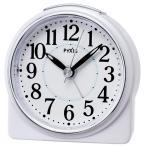 PYXIS アナログ目覚まし時計/NR439W
