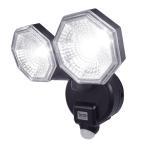 DCMブランド LEDセンサーライト2灯式/E-BL200 乾電池式